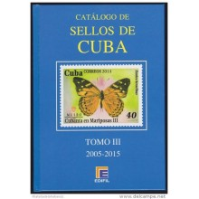 NEW ISSUE 2016. CATALOGO EDIFIL DE SELLOS DE CUBA. 2005-2015.