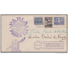 1952-FDC-45 CUBA REPUBLICA 1952. AGUSTIN PARLA. ALL FDC CANCEL COVER. SIGNED ZOILA PARLA &amp CUBA PARLA.