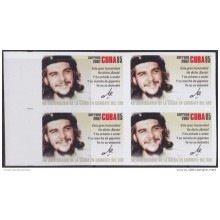 2007.401 CUBA 2007 MNH IMPERFORATED PROOF 40 ANIV MUERTE DE ERNESTO CHE GUEVARA BLOCK 4.