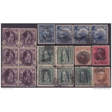 1899-235 CUBA. US OCCUPATION. 1899-05. 1-10c. POSTAGE DUE CANCEL LOT.