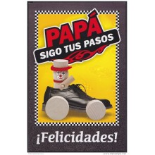 2009-EP-14 CUBA. POSTAL STATIONERY. 2009. Ed.104g. DIA DE LOS PADRES. FATHER DAY. USED. PATINES.