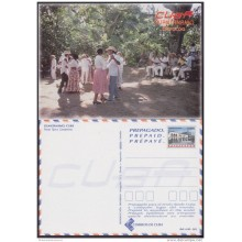 2000-EP-142 CUBA 2000. POSTAL STATIONERY. FIESTA TIPICA CAMPESINA. DANCES. VISTAS TURISTICAS. UNUSED.
