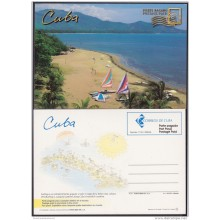 2004-EP-23 CUBA 2004. POSTAL STATIONERY. PLAYAS. BEACH. VISTAS TURISTICAS. UNUSED.