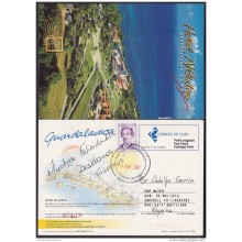 2004-EP-29 CUBA 2004. POSTAL STATIONERY. HOTEL ATLANTICO. GUARDALAVACA. BEACH. VISTAS TURISTICAS. USED.