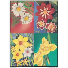 1983-EP-112 CUBA. POSTAL STATIONERY. 1983. Ed.133a-i. MOTHER DAY. DIA DE LAS MADRES COMPLETE SET OF 9. FLORES. FLOWERS.