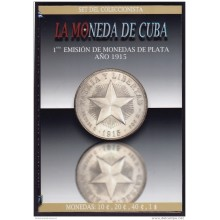 BK-SET-82 CUBA SPECIAL BOOK SILVER 1915 COMPLETE SET 10c-1$. STAR TYPE.