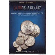 BK-SET-89 CUBA SPECIAL BOOK SILVER COMPLETE SET SILVER STAR 1915-1949.
