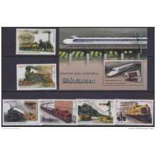 2016.47 CUBA 2016 MNH. FERROCARRIL SHINKASEN. RAILROAD RAILWAYS LOCOMITIVE.