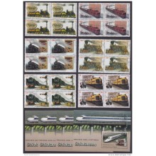2016.48 CUBA 2016 MNH. FERROCARRIL SHINKASEN. RAILROAD RAILWAYS LOCOMITIVE. BLOCK 4.
