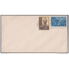 1941-FDC-30 CUBA 1941 FDC GUILLERMO MONCADA. INDEPENDENCE WAR.