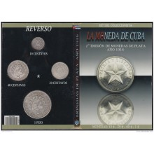 BK-SET-110 CUBA SPECIAL BOOK SILVER 1916 COMPLETE SET 10c-1$. STAR TYPE.