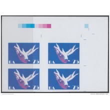 2013-506 CUBA MNH 2013. IMPERFORATED PROOF BLOCK 4. WHITHOUT COLOR. ALICIA ALONSO. BALLET. DANZA. DANCE.
