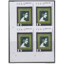 2013-508 CUBA MNH 2013. IMPERFORATED PROOF BLOCK 4. ALICIA ALONSO. BALLET. DANZA. DANCE.