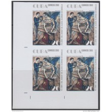 2013-509 CUBA MNH 2013. IMPERFORATED PROOF BLOCK 4. ALICIA ALONSO. BALLET. DANZA. DANCE.