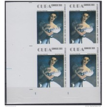 2013-511 CUBA MNH 2013. IMPERFORATED PROOF BLOCK 4. ALICIA ALONSO. BALLET. DANZA. DANCE.