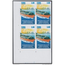 2015-181 CUBA MNH 2015. IMPERFORATED PROOF BLOCK 4. ARBITRAJE COMERCIAL. SHIP. BARCO.