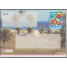 2000-EP-152 CUBA 2000. Ed.9. PLAYA DE VARADERO. ENGRAVING ERROR. DISPLACED COLOR.