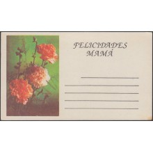 1994-EP-35 CUBA 1994. POSTAL STATIONERY PERIODO ESPECIAL CARD. FLORES FLOWERS UNCATALOGUED. UNUSED.