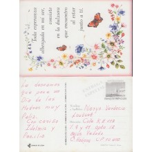 1999-EP-28 CUBA 1999. Ed.30b. MOTHER DAY SPECIAL DELIVERY. ENTERO POSTAL. POSTAL STATIONERY. FLOWERS. FLORES. USED.