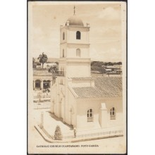 POS-326 CUBA PHOTOGRAFIC POSTCARD GUANTANAMO. CIRCA 1930. CHURCH OF GUANTANAMO. UNUSED.