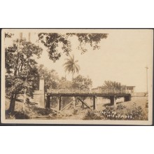 POS-358 CUBA PHOTOGRAPHIC POSTCARD PINES IS. CIRCA 1920. BRIGHT OF SANTA FE. PUENTE. UNUSED.