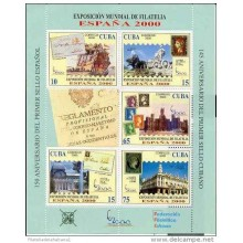 2000 AE16 CUBA SPECIAL FORMAT SPAIN EXPO 2000 MNH