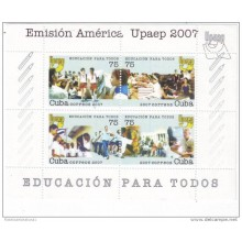 2007 AE205 CUBA SPECIAL FORMAT UPAEP 2007 EDUCATION