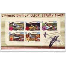 2003 AE22 CUBA SPECIAL FORMAT SEA BIRD PHILATELIC EXPO 2003