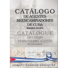 CATALOGO DE AGENTES REENCAMINADORES DE CUBA. NEW!!!!!. CATALOGUE OF CUBAN FORWARDING AGENT. INGLISH- SPANISH