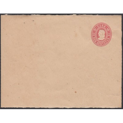 1899-EP-190 CUBA US OCCUPATION 1899. 2c NEWSPAPER POSTAL STATIONERY.
