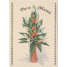 1981-EP-103 CUBA 1981 POSTAL STATIONERY. Ed.128f. DIA DE LAS MADRES. MOTHER DAY SPECIAL DELIVERY. FLORES FLOWER UNUSED