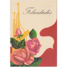1981-EP-105 CUBA 1981 POSTAL STATIONERY. Ed.128b. DIA DE LAS MADRES. MOTHER DAY SPECIAL DELIVERY. ROSA Y FUSIL FLOWER UN