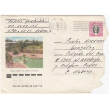 1984-EP-100 CUBA 1984 Ed.195k. POSTAL STATIONERY ANGOLA WAR USE. HOTEL COLONY PINES IS.
