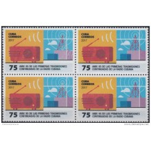 2017.141 CUBA 2017 MNH. HELICOPTEROS BUSQUEDA Y RESCATE HELICOPTER. BLOCK 4 + 4 HF.
