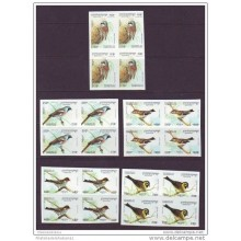 1994 D1473 CAMBODIA CAMBOYA PROOF IMPERFORATED MNH 1994 BIRD BLOCK 4
