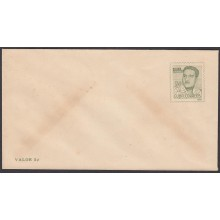1967-EP-10 CUBA REPUBLICA 1967. 3c ECHEVARRIA COVER POSTAL STATIONERY ERROR NO BLACK COLOR.