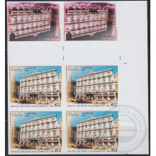 2005.363 CUBA. 2005. HOTEL INGLATERRA. IMPERF PROOF + ERROR WITHOUT COLOR. MNH.